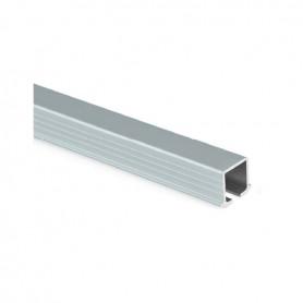 Binario superiore/inferiore alluminio anodizzato nero 2350 mm