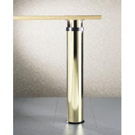Gambone diametro 120 mm h 680-900 mm ottonato