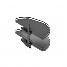 Meccanismo per angolo estraibile LAKE titane SX