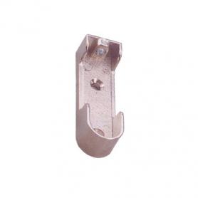 Reggitubo in zama filetto m 6 mm. nichel M718