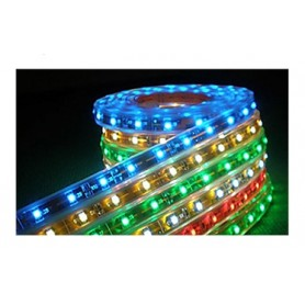 STRIP LED ADES 8X5000 4,8Wmt 12VDC IP65  3528  BLU
