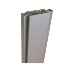 "MONTANTE """"VERTICAL SLIM"""" 16X53 BIANCO RAL 9003 OPACO"